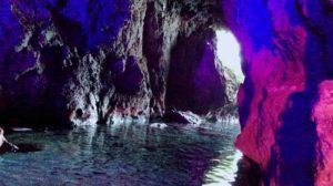 キャンピングカー レンタル 青の洞窟 パワースポット